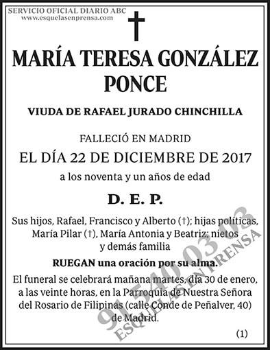 María Teresa González Ponce